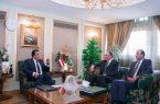 السفير السعودي في مصر يلتقي بمعالي وزير التعليم العالي المصري