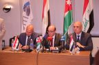 وزراء نقل الأردن ومصر والعراق يؤكدون ضرورة تطوير البنية التحتية للنقل في بلادهم