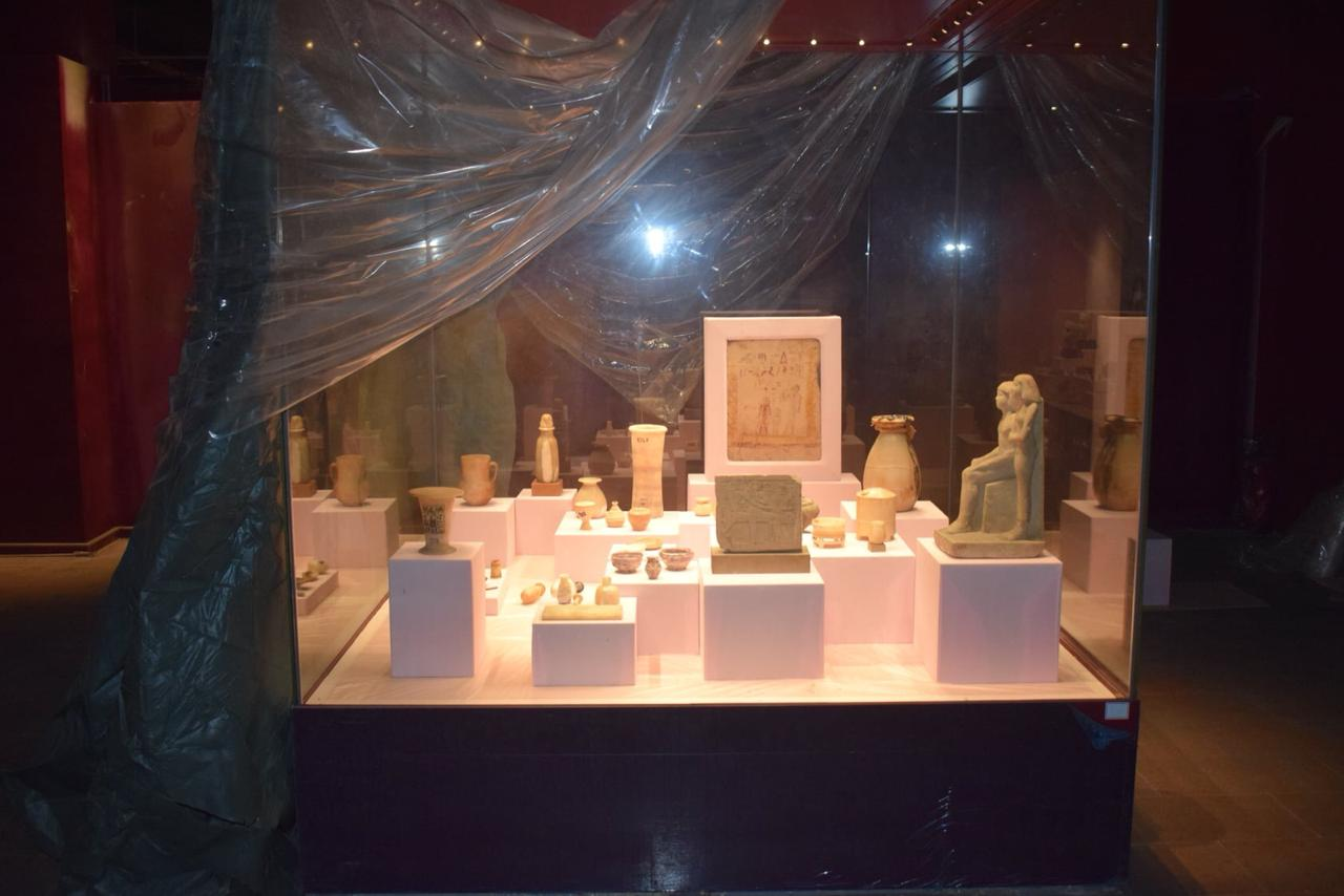 استمرار الأعمال الإنشائية بمتحف الغردقة فى مصر تمهيداً لأفتتاحه