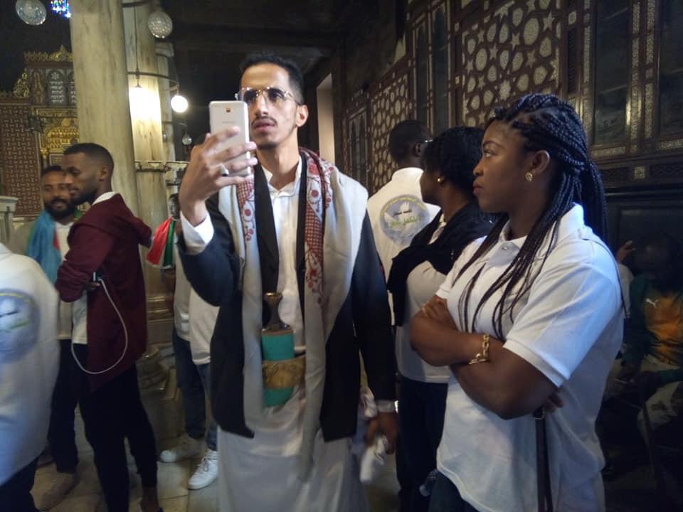 بالصور ..مصر تنظم جولة لشباب 29 دولة افريقية بمجمع الأديان