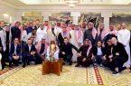 """أمير الرياض يستقبل رئيس وأعضاء """"نادي النصر"""""""