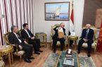مصر ..محافظ بورسعيد يستقبل رئيس الجالية الإيطالية