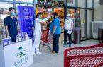 صحة حفر الباطن تقيم مبادرة توعوية بفيروس كورونا في مراكز التسوق الغذائي