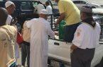 مركز حي المسفلة يواصل برامجه الميدانية التطوعية