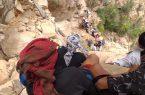 إنقاذ مواطن سقط من ارتفاع 350 متر في جبال الشامية بالريث