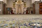 وزارة الشؤون الإسلامية تقوم بفرش مسجد قباء ضمن مبادرة عمارة المساجد