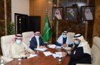 أمين المنطقة الشرقية يرأس الاجتماع المرئي الدوري للوكلاء ورؤساء البلديات