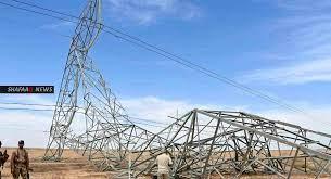 أعمال تخريبية تستهدف الطاقة الكهربائية في العراق