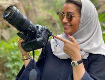 """مصورة سعودية : تحصد  لقب"""" فنان الفياب"""""""