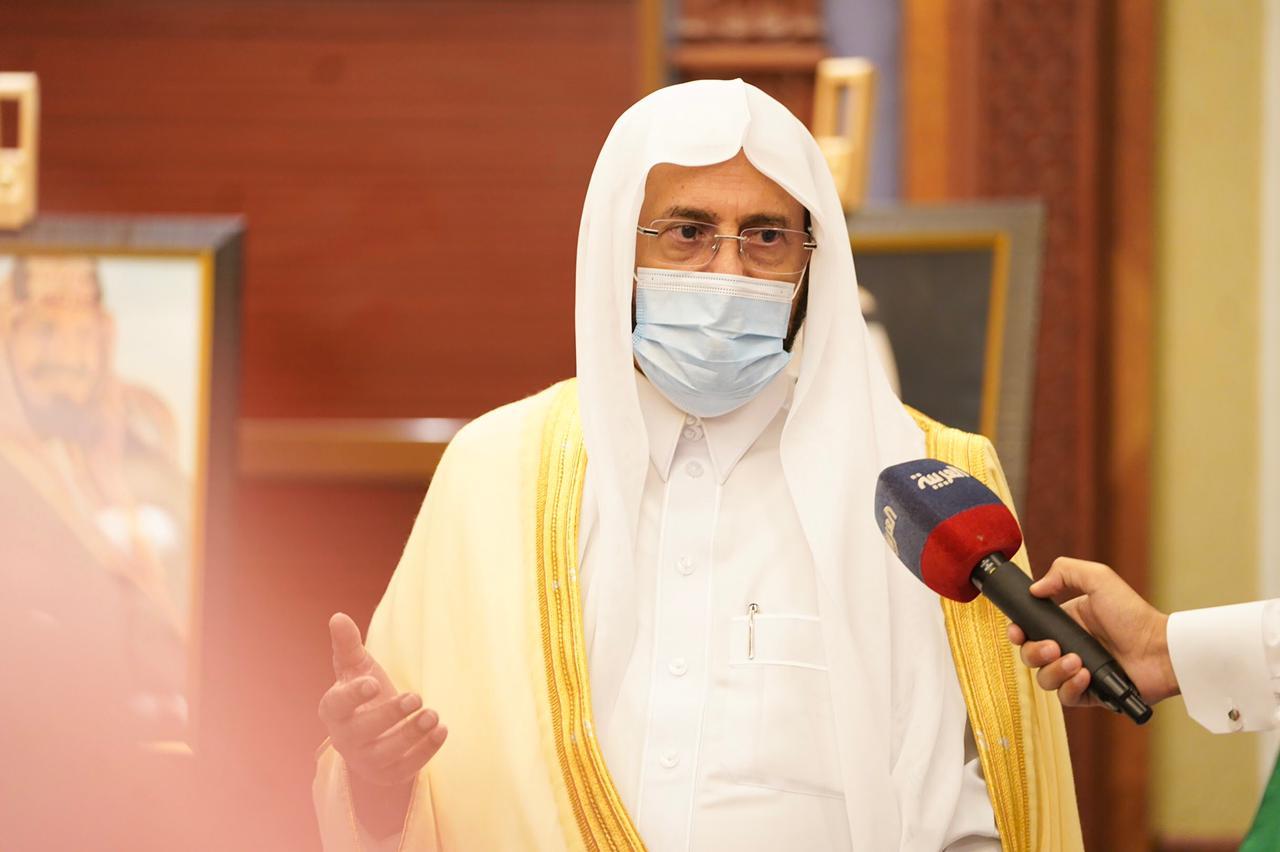 وزير الشؤون الإسلامية: لاخير في أمة لاتقدر علمائها الذين يعملون وفق القرآن الكريم والسنة النبوية