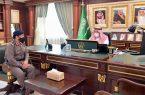 سمو أمير جازان يتسلم تقرير الدفاع المدني حول الحالة المطرية والموسمية بالمنطقة