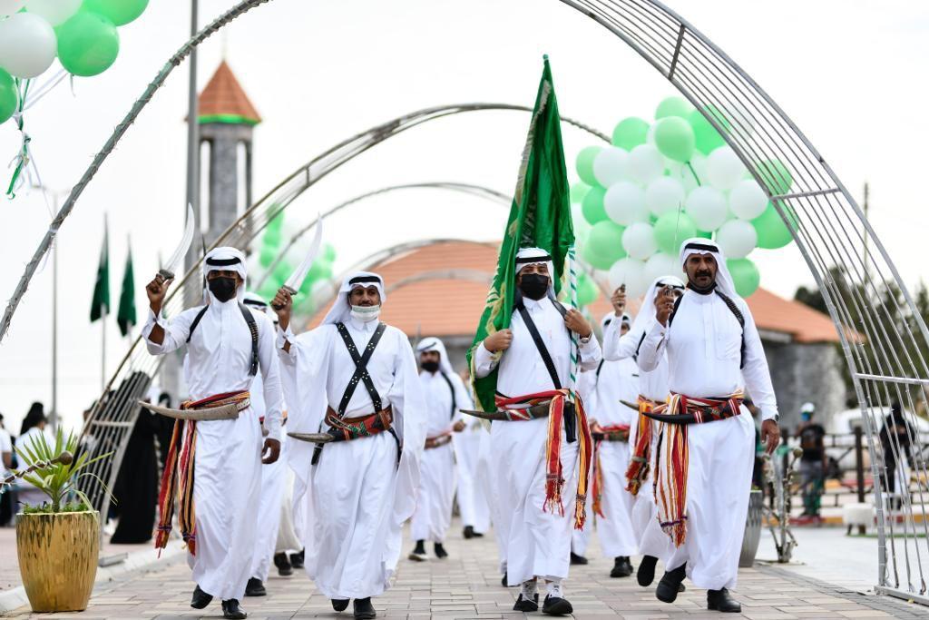 مجلس شباب الباحة يشارك في فعاليات اليوم الوطني 91