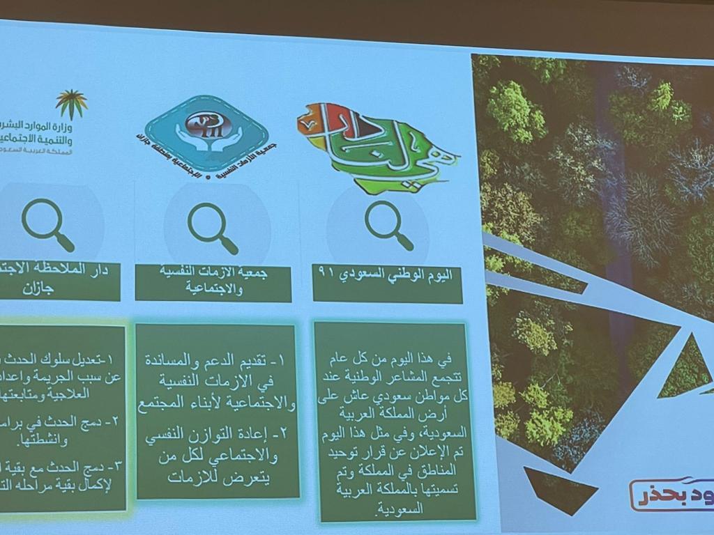 جمعية الأزمات بجازان تحتفل باليوم الوطني91