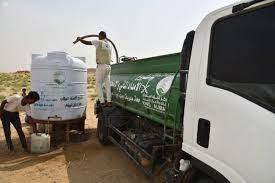 مركز الملك سلمان للإغاثة يواصل تنفيذ مشروع الإمداد المائي والإصحاح البيئي