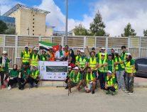 """جمعية الجيل الأخضر تُطلق """"مسيرة المناخ"""" بالأردن"""