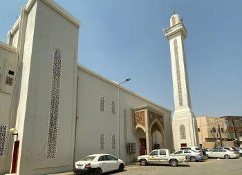 دعم المسجد الأثري بأبي عريش