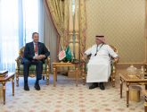 """""""القصبي """"يلتقي الوزير المكلف لشؤون التجارة الفرنسي"""
